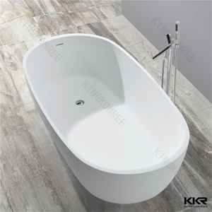 Deep freestanding bathtub KKR-B036